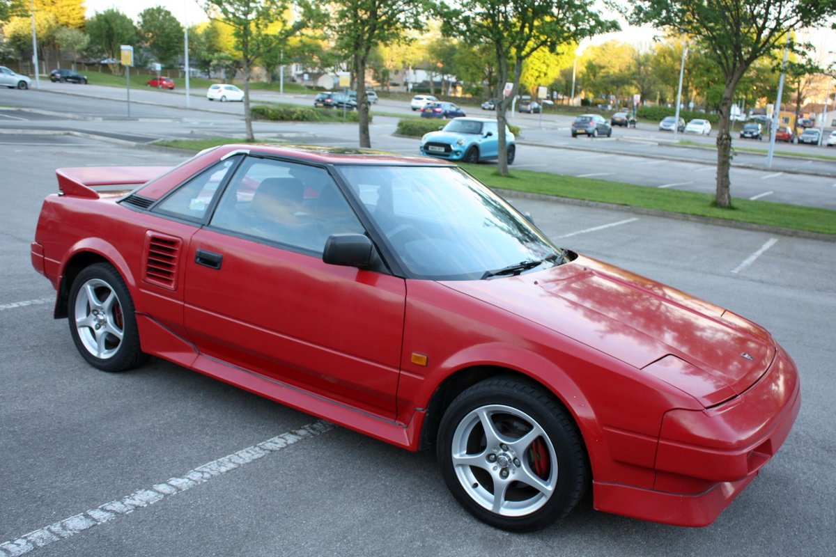 1989 TOYOTA MR2 MK1 1.6 HPI CLEAR - AW11 - 114K MILES For Sale (picture 4 of 5)