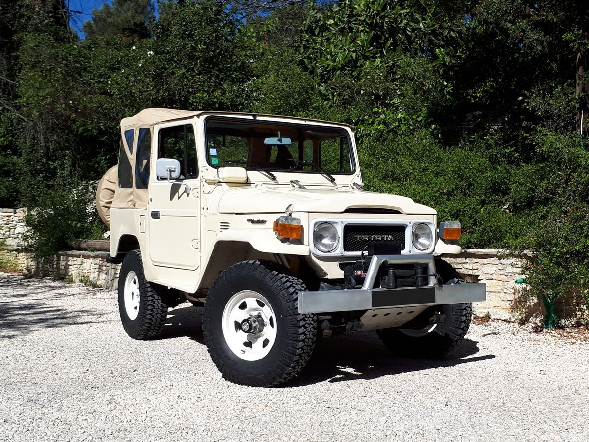 1984 Toyota Land Cruiser BJ 42 - No reserve For Sale by Auction (picture 1 of 6)
