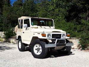 1984 Toyota Land Cruiser BJ 42 - No reserve For Sale by Auction