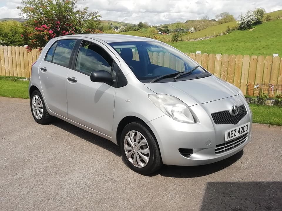 2007 Toyota Yaris 1.0 VVTi -5dr- 1 Year MOT 2020 For Sale (picture 1 of 6)