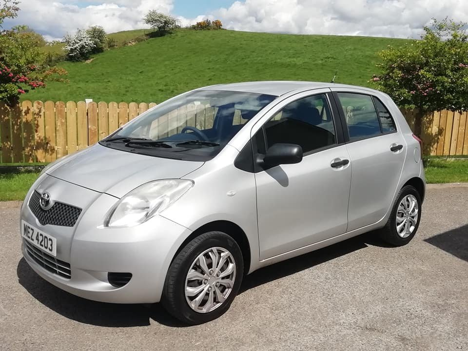 2007 Toyota Yaris 1.0 VVTi -5dr- 1 Year MOT 2020 For Sale (picture 2 of 6)