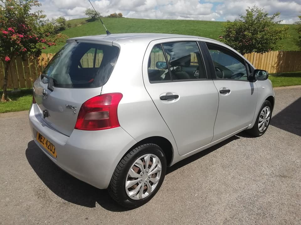 2007 Toyota Yaris 1.0 VVTi -5dr- 1 Year MOT 2020 For Sale (picture 4 of 6)