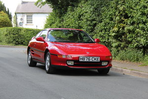 1990 Toyota MR2 2.0 GT - 18.5k miles, 2 owners, totally standard