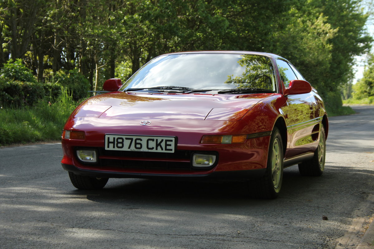 1990 Toyota MR2 2.0 GT - 18.5k miles, 2 owners, totally standard SOLD (picture 3 of 12)
