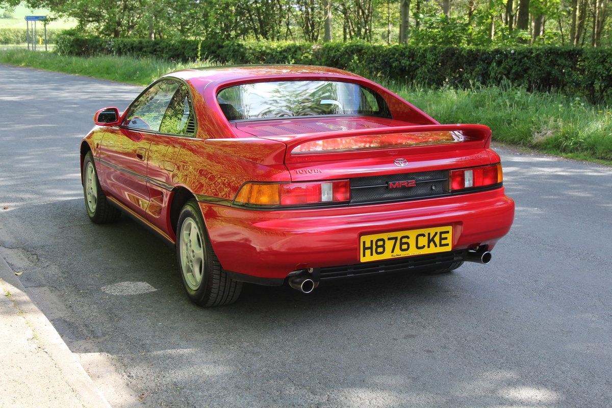 1990 Toyota MR2 2.0 GT - 18.5k miles, 2 owners, totally standard SOLD (picture 4 of 12)