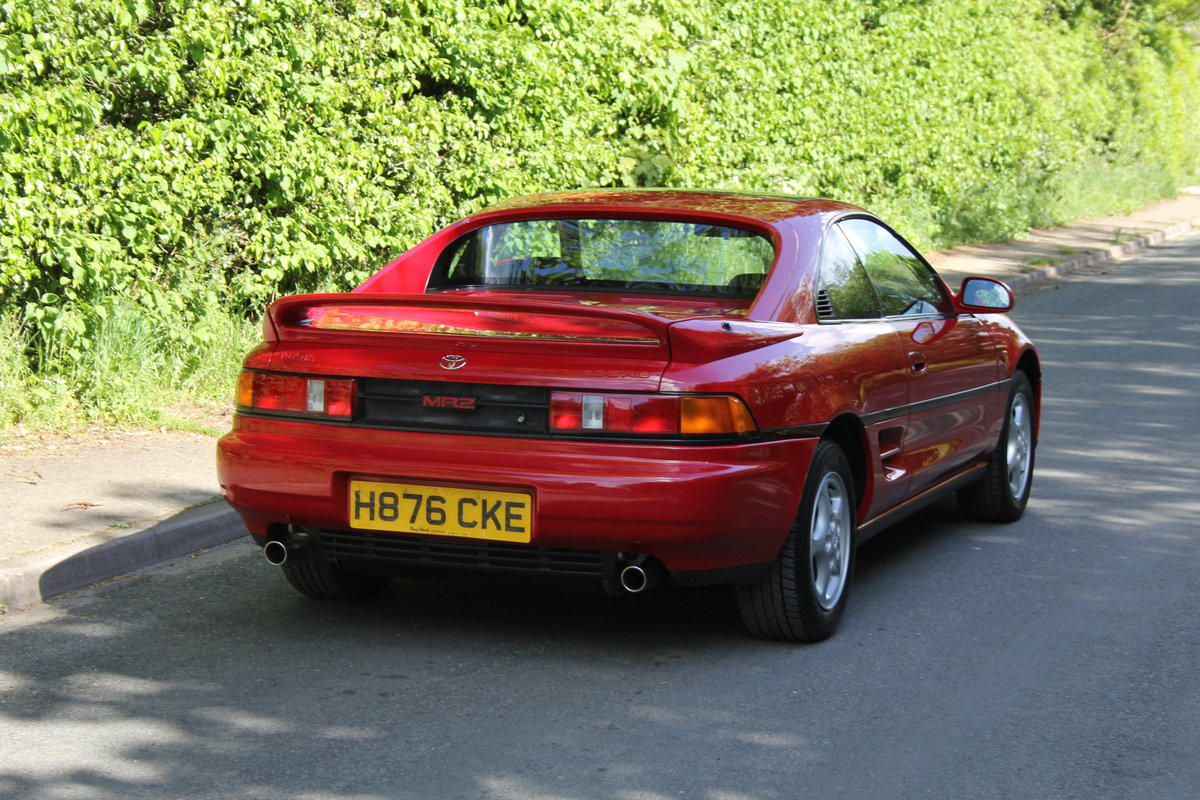 1990 Toyota MR2 2.0 GT - 18.5k miles, 2 owners, totally standard SOLD (picture 5 of 12)