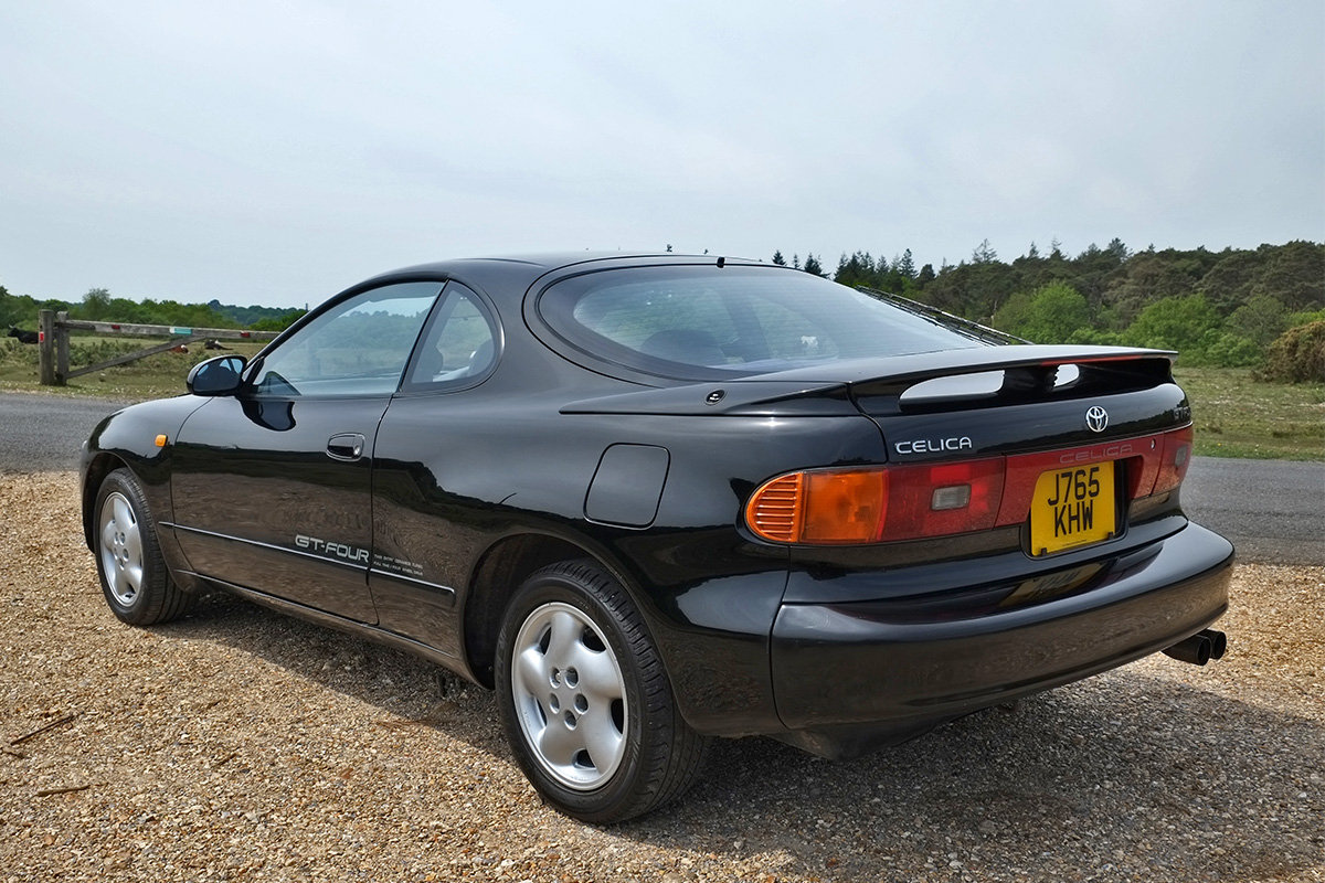 1992 Toyota Celica GT-Four Turbo 4x4 MOT 3/20 ST185 For Sale (picture 3 of 6)