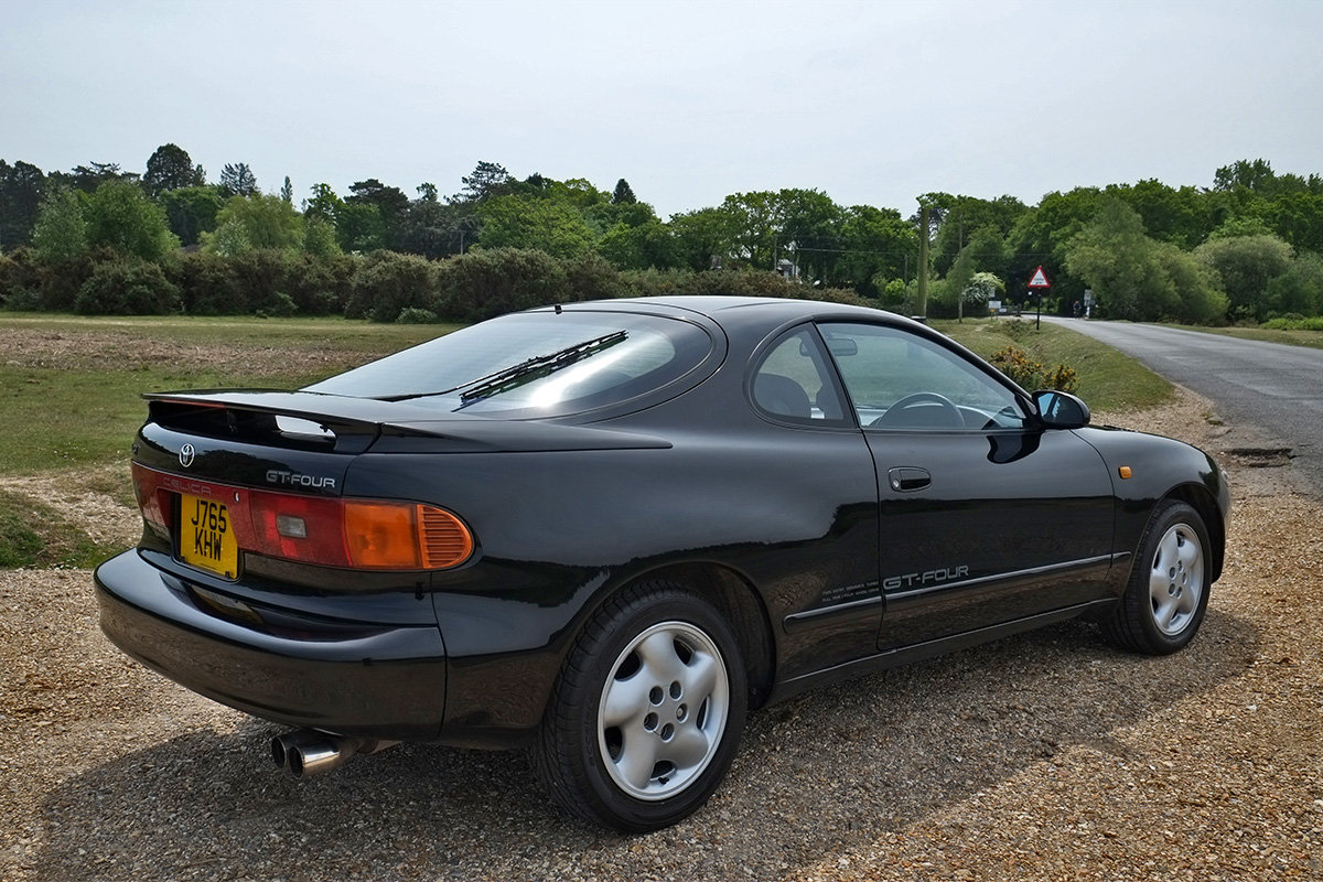 1992 Toyota Celica GT-Four Turbo 4x4 MOT 3/20 ST185 For Sale (picture 4 of 6)