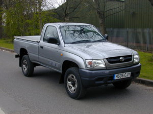 2005 TOYOTA HI LUX Mk4 2.5 D-4D 250 EX DIESEL PICK UP - UK CAR!