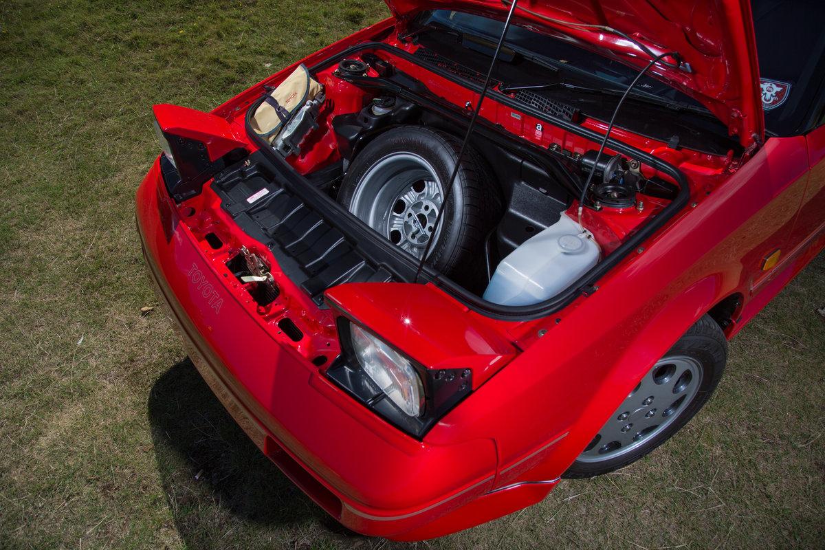 Stunning Toyota MR2 Mk1b 1987 - £30k resto SOLD (picture 4 of 6)