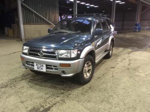 1996 Toyota Hi-Lux Surf at Morris Leslie Auction 25th May SOLD by Auction (picture 1 of 3)