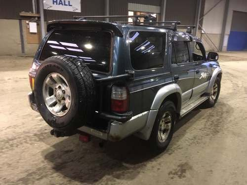 1996 Toyota Hi-Lux Surf at Morris Leslie Auction 25th May SOLD by Auction (picture 3 of 3)