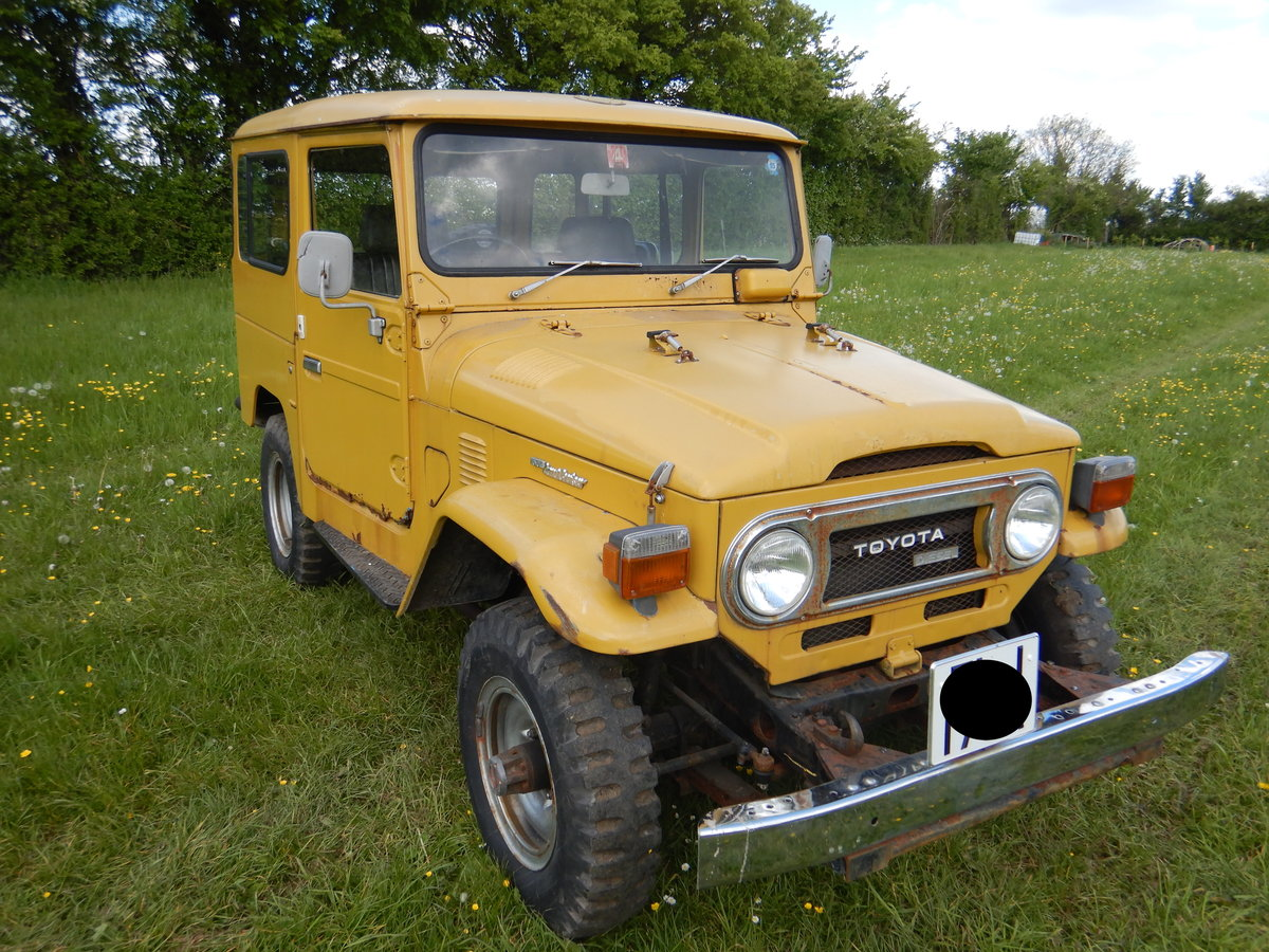 Toyota Land Cruiser Landcruiser BJ40 1977 RHD For Sale (picture 1 of 6)