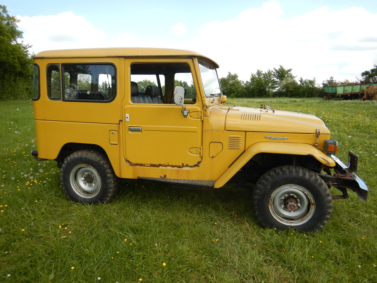 Toyota Land Cruiser Landcruiser BJ40 1977 RHD For Sale (picture 4 of 6)