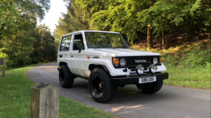 1989 g reg Toyota landcruiser lj70 For Sale