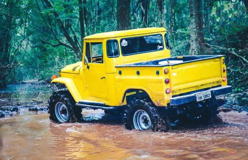 1980 Diesel 4x4 Brazilian Toyota Bandeirante For Sale (picture 4 of 6)
