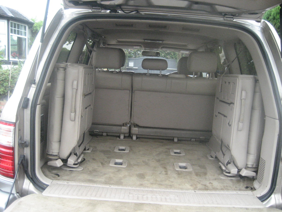 2000 Toyota Landcruiser Cygnus (Lexus 470) For Sale (picture 4 of 6)