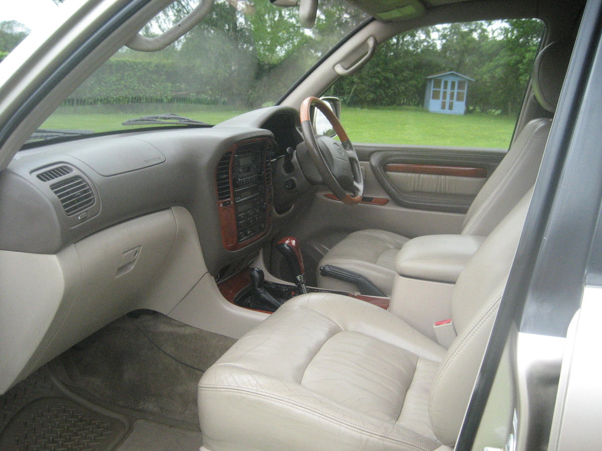 2000 Toyota Landcruiser Cygnus (Lexus 470) For Sale (picture 5 of 6)