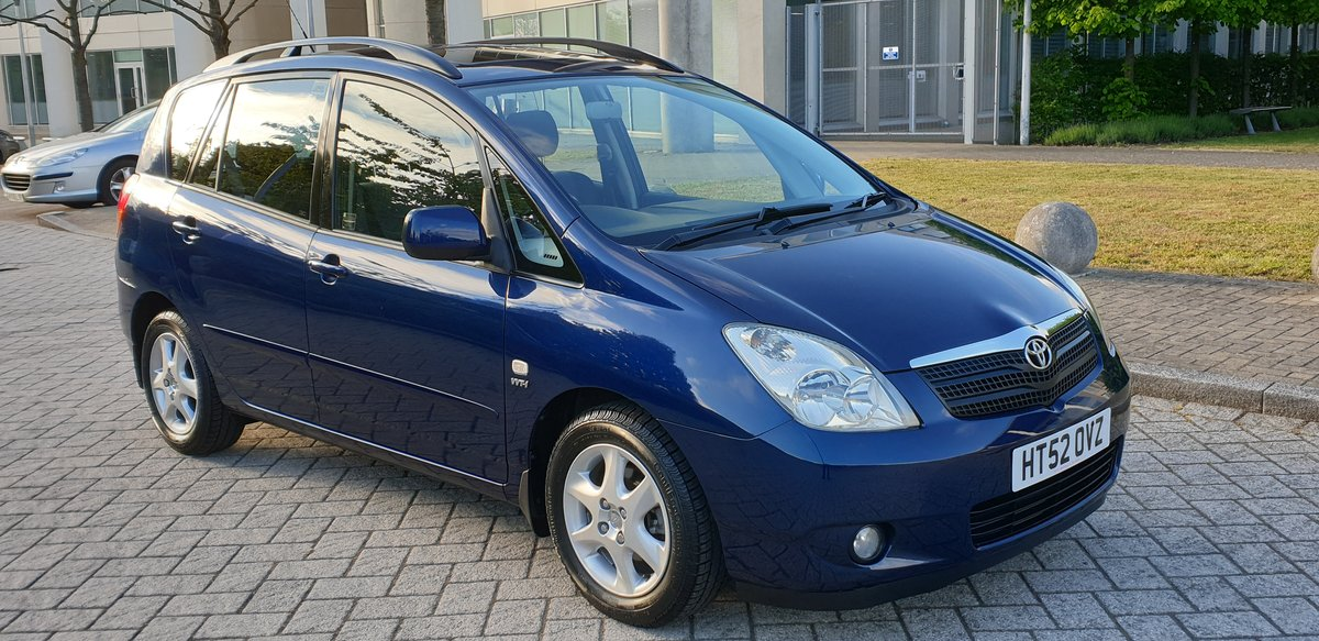2003 1.8 vvti t- spirit auto 2 owners 61k fsh stunning  For Sale (picture 1 of 6)