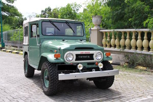 Toyota Fj40 1971 Land-cruiser canvas-top For Sale