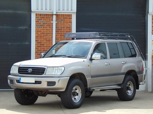 2002 Toyota Landcruiser Amazon.. Expedition Spec.. Bargain.. SOLD