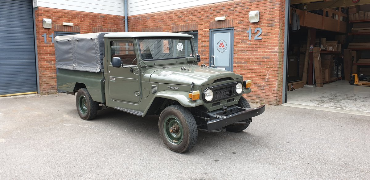 1974 Toyota Landcruiser HJ45 For Sale (picture 1 of 4)