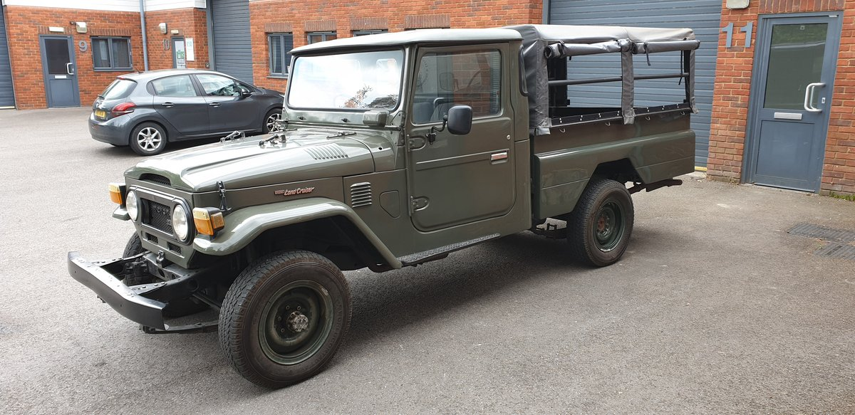 1974 Toyota Landcruiser HJ45 For Sale (picture 3 of 4)