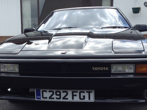 1985 Rare, Toyota Celica Supra, 2.8 MA61 in Black For Sale