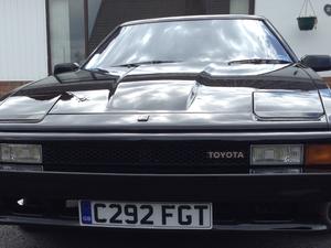 1985 Rare, Toyota Celica Supra, 2.8 MA61 in Black For Sale