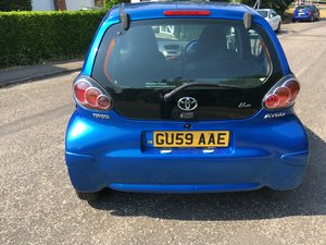 2009/59 toyota aygo 1.0 vvti 5door blue hpi clear For Sale