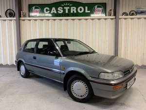 Stunning 1991 Toyota Corolla 1.3GL 29k 1 former keeper For Sale