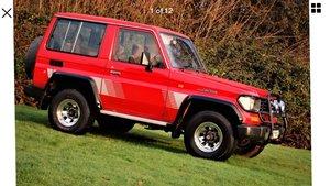1995 Toyota landcruiser KZJ70 For Sale