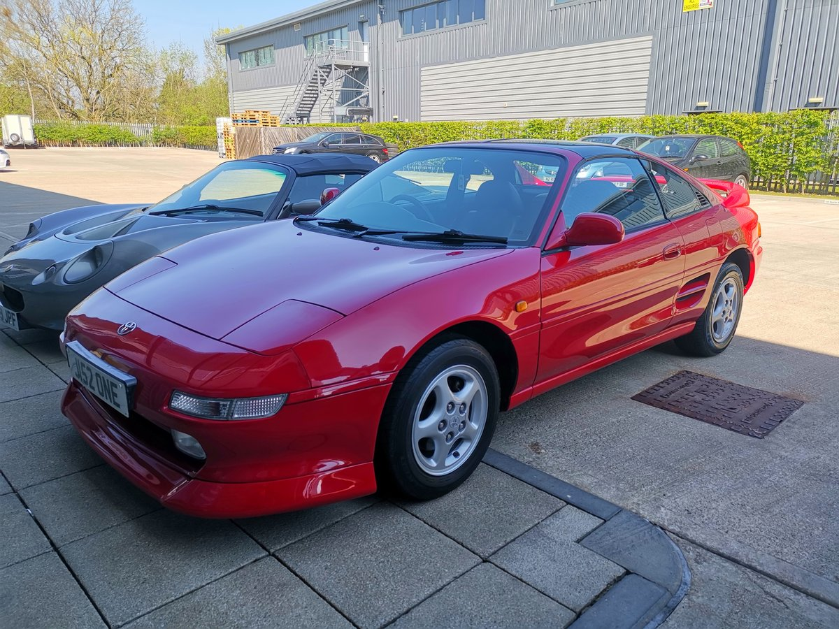 1991 Toyota MR2 T Bar - New Timing belt + Clutch For Sale (picture 3 of 6)