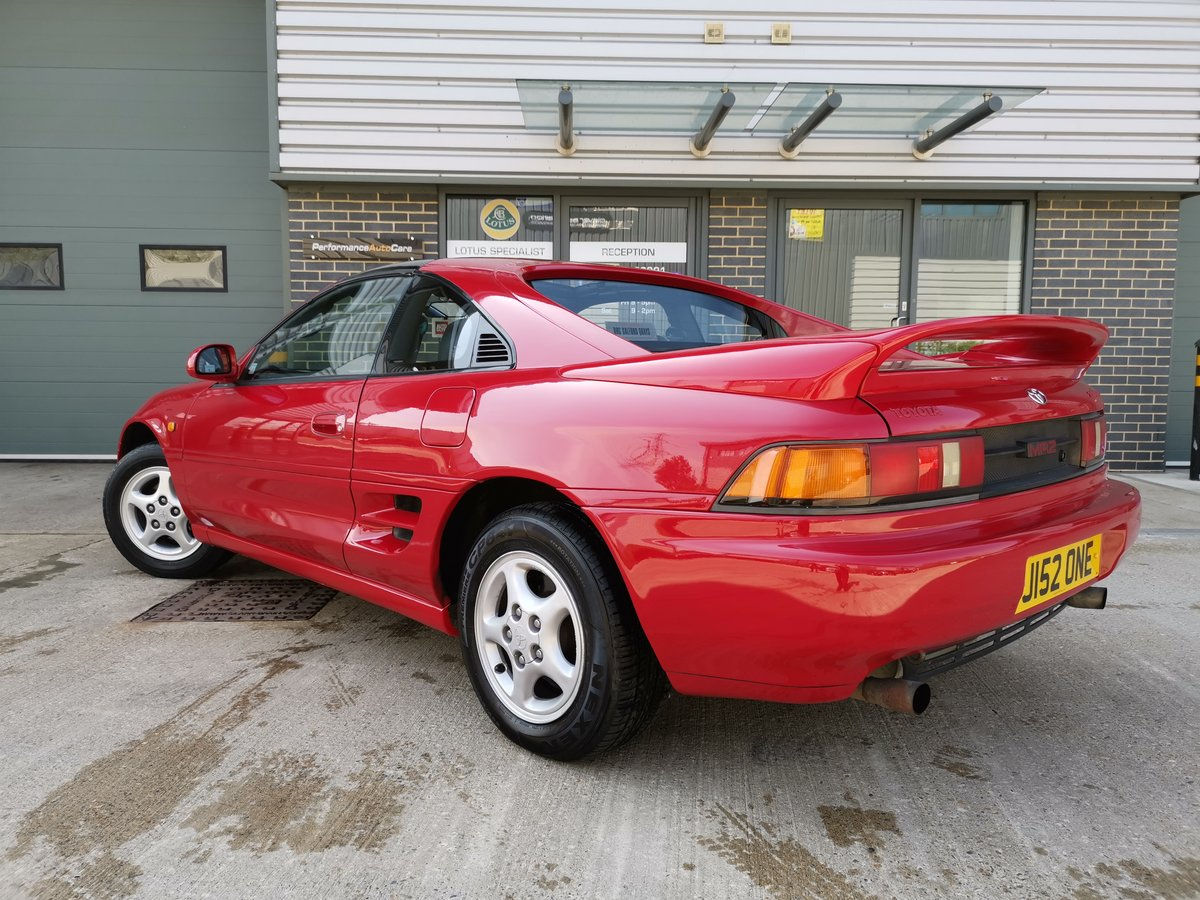 1991 Toyota MR2 T Bar - New Timing belt + Clutch For Sale (picture 4 of 6)