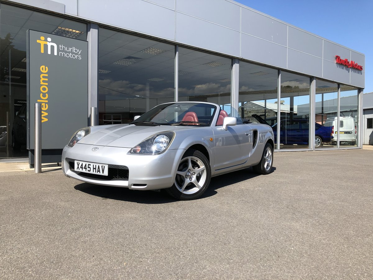 2000 Toyota MR2 Roadster  For Sale (picture 1 of 5)