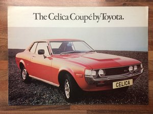 Toyota Celica Coupe pamphlet For Sale