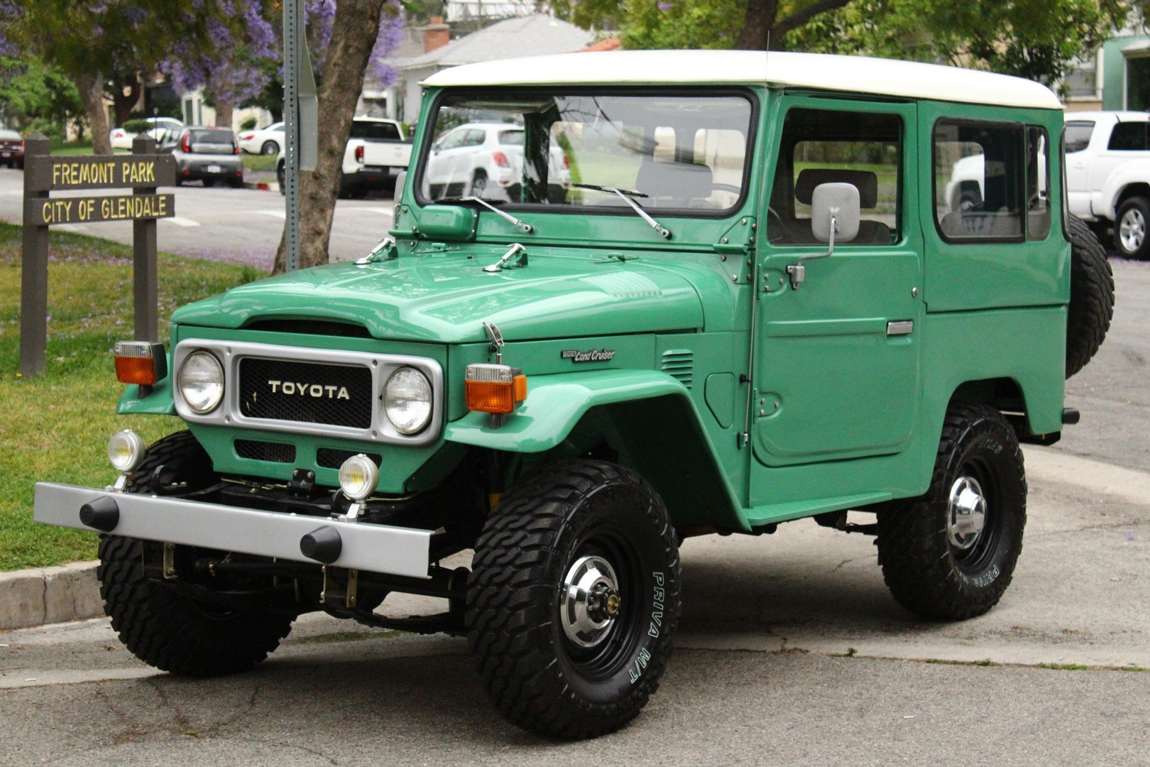 1980 TOYOTA LAND CRUISER FJ 40 4WD For Sale (picture 1 of 6)