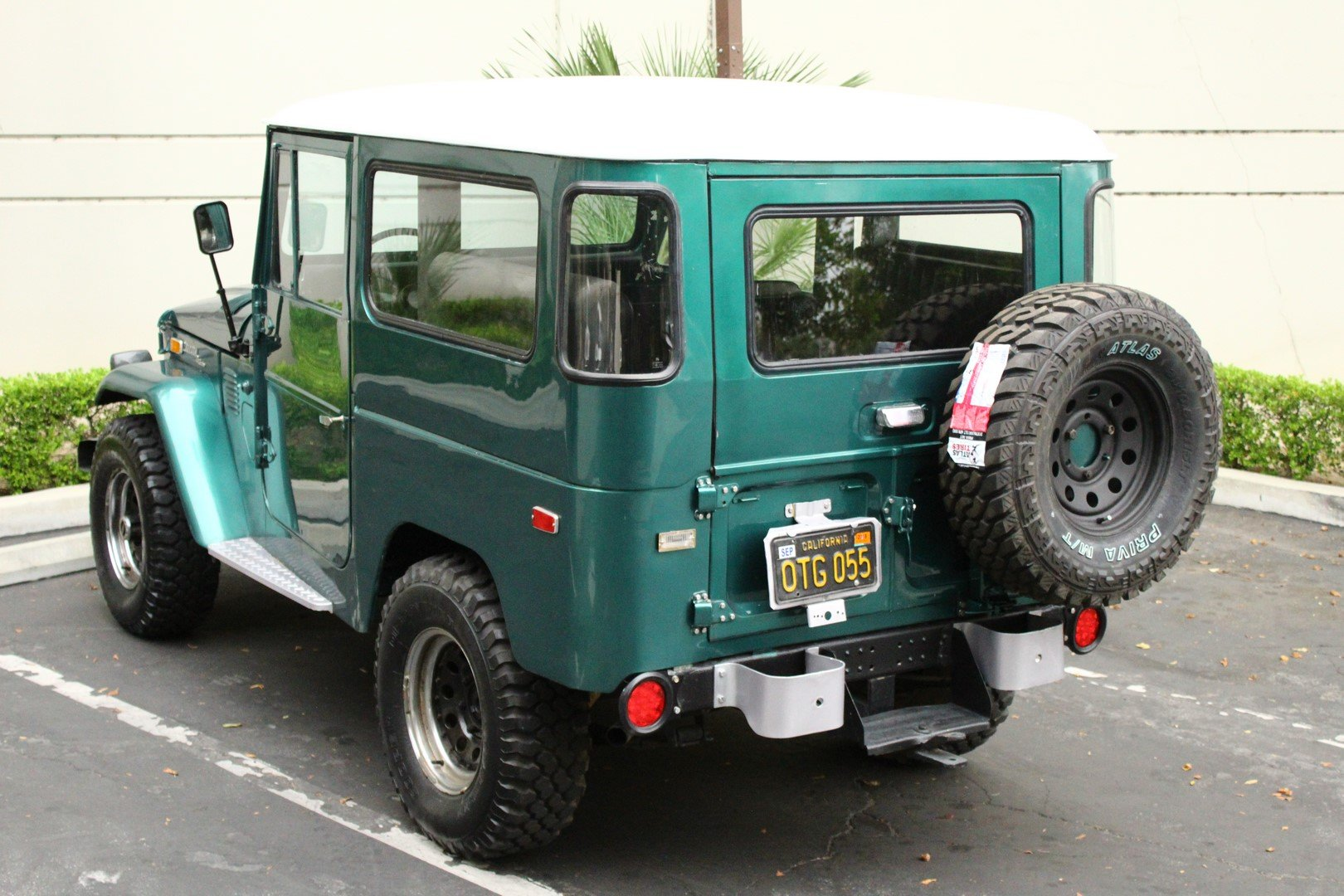 1972 TOYOTA LAND CRUISER FJ 40 4WD SOLD (picture 2 of 6)