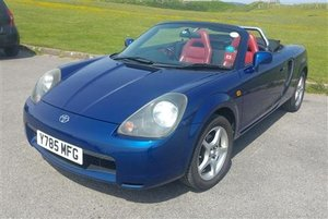 2001 ** Toyota MR2 Roadster 1.8 VVTi Auto - 1794cc - 20th July** For Sale by Auction