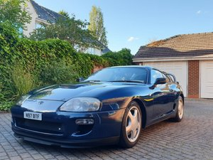 TOYOTA SUPRA 1996 Storm Blue UK Spec Twin Turbo 6  For Sale