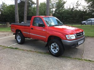 2002 Toyota hilux single cab 2.5 d4d ex