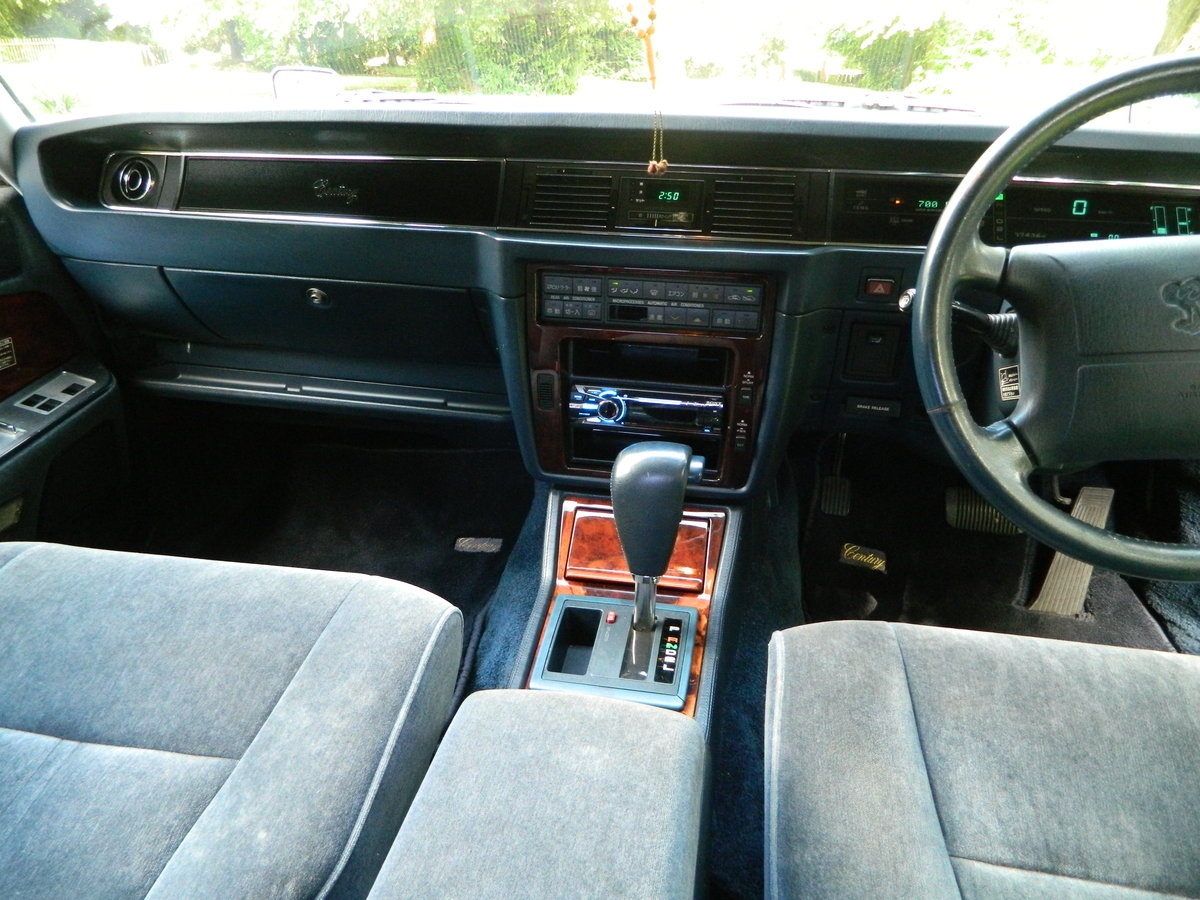 Toyota Century 1994 / M - Limousine 4.0 Ltr Automatic For Sale (picture 6 of 6)