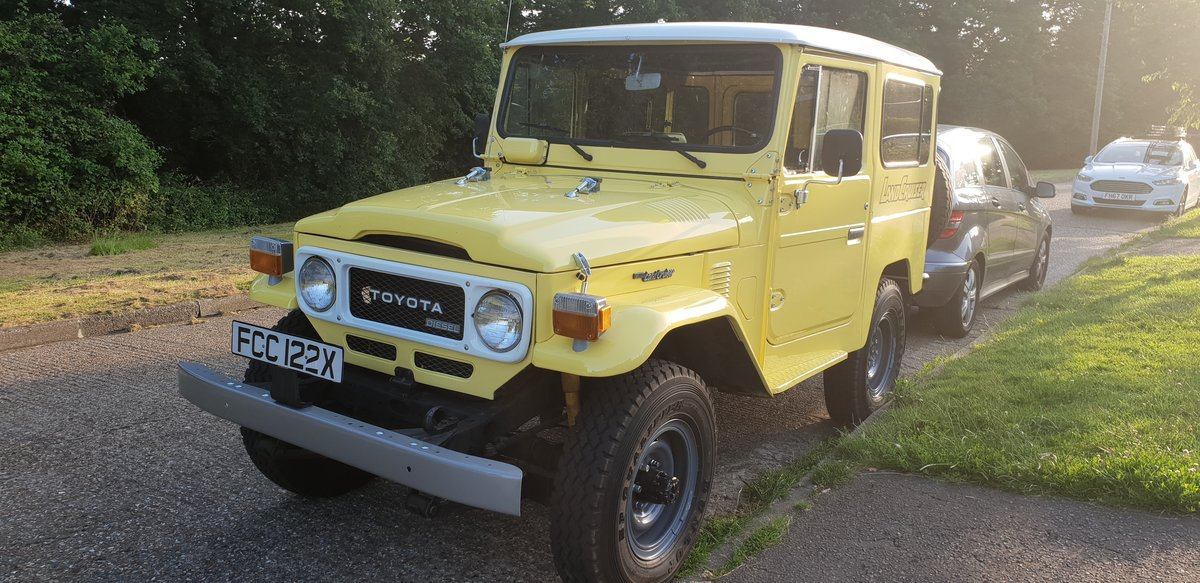 Toyota bj40 land cruiser 1982 For Sale (picture 1 of 6)