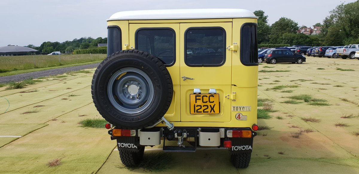 Toyota bj40 land cruiser 1982 For Sale (picture 2 of 6)
