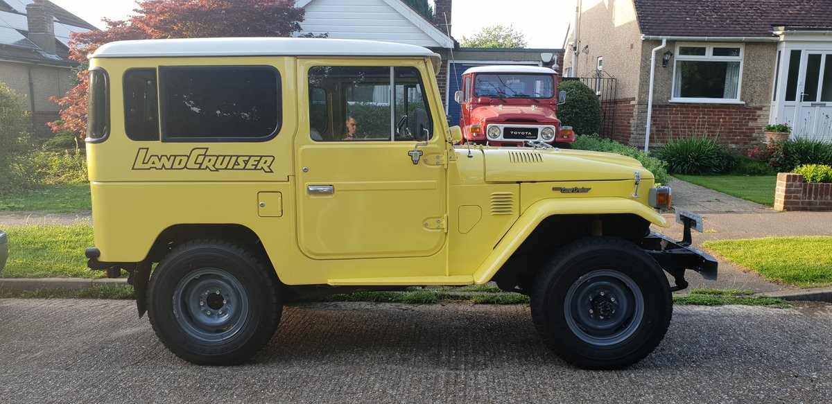 Toyota bj40 land cruiser 1982 For Sale (picture 3 of 6)