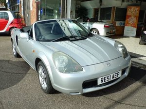 2001/51 Toyota MR2 1.8 VVTi Convertible 2dr 65598 miles For Sale