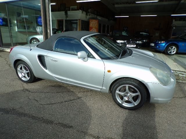2001/51 Toyota MR2 1.8 VVTi Convertible 2dr 65598 miles For Sale (picture 3 of 6)