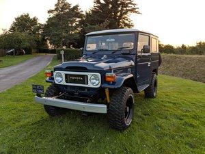 RHD 1981 Japanese factory Toyota FJ40 Landcruiser For Sale