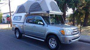 2004 04 Toyota Tundra Crew Cab 4 x 4 Camper Special Rare $15.9k For Sale