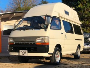 1995 Toyota Hiace 4WD Camper Van Automatic 2770cc + 4x4